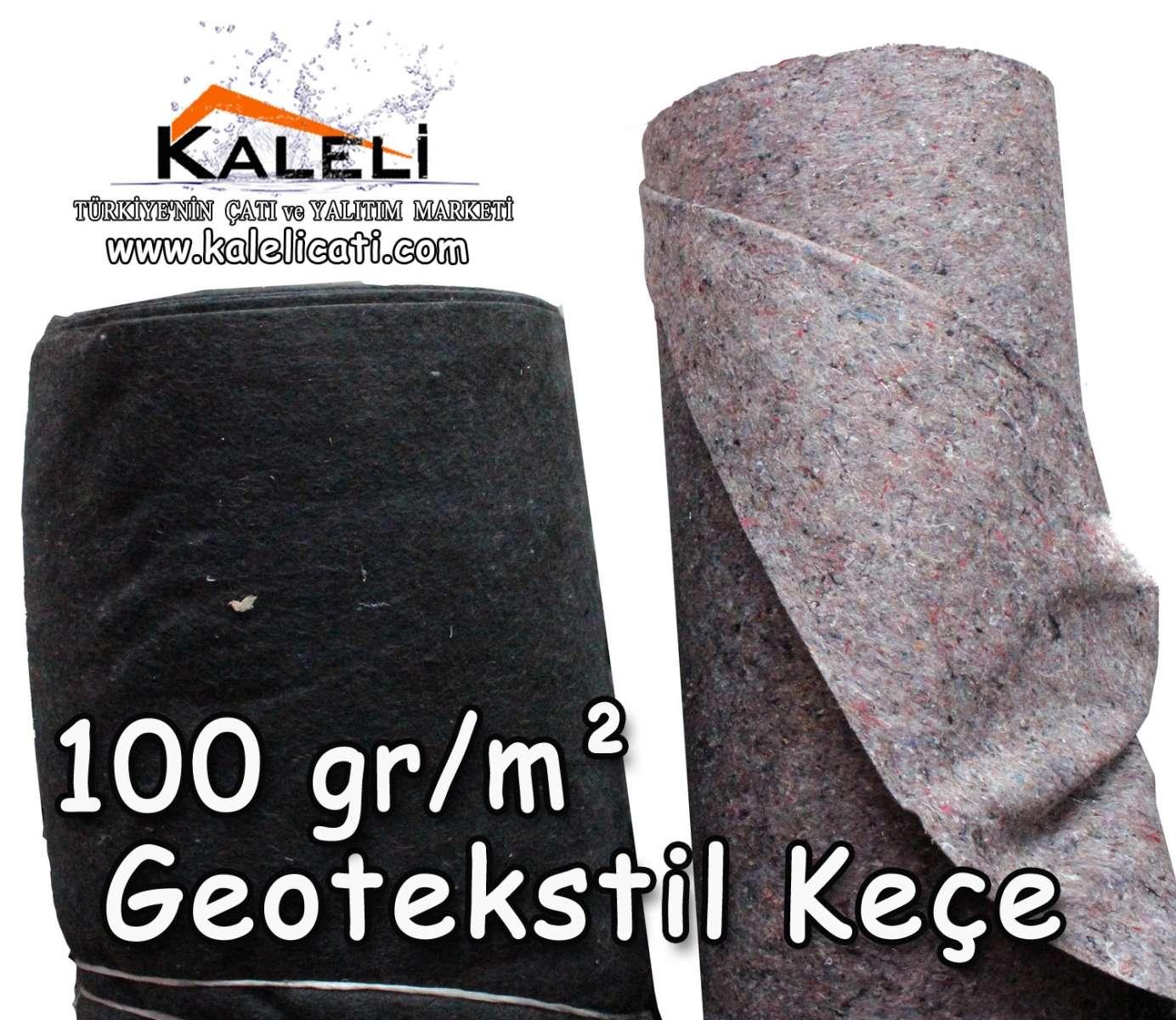 Geotekstil Keçesi 100 gr./m²