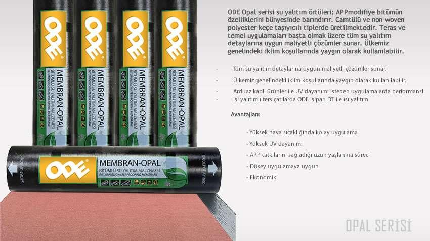 ODE Opal serisi 3mm su yalıtım membranı
