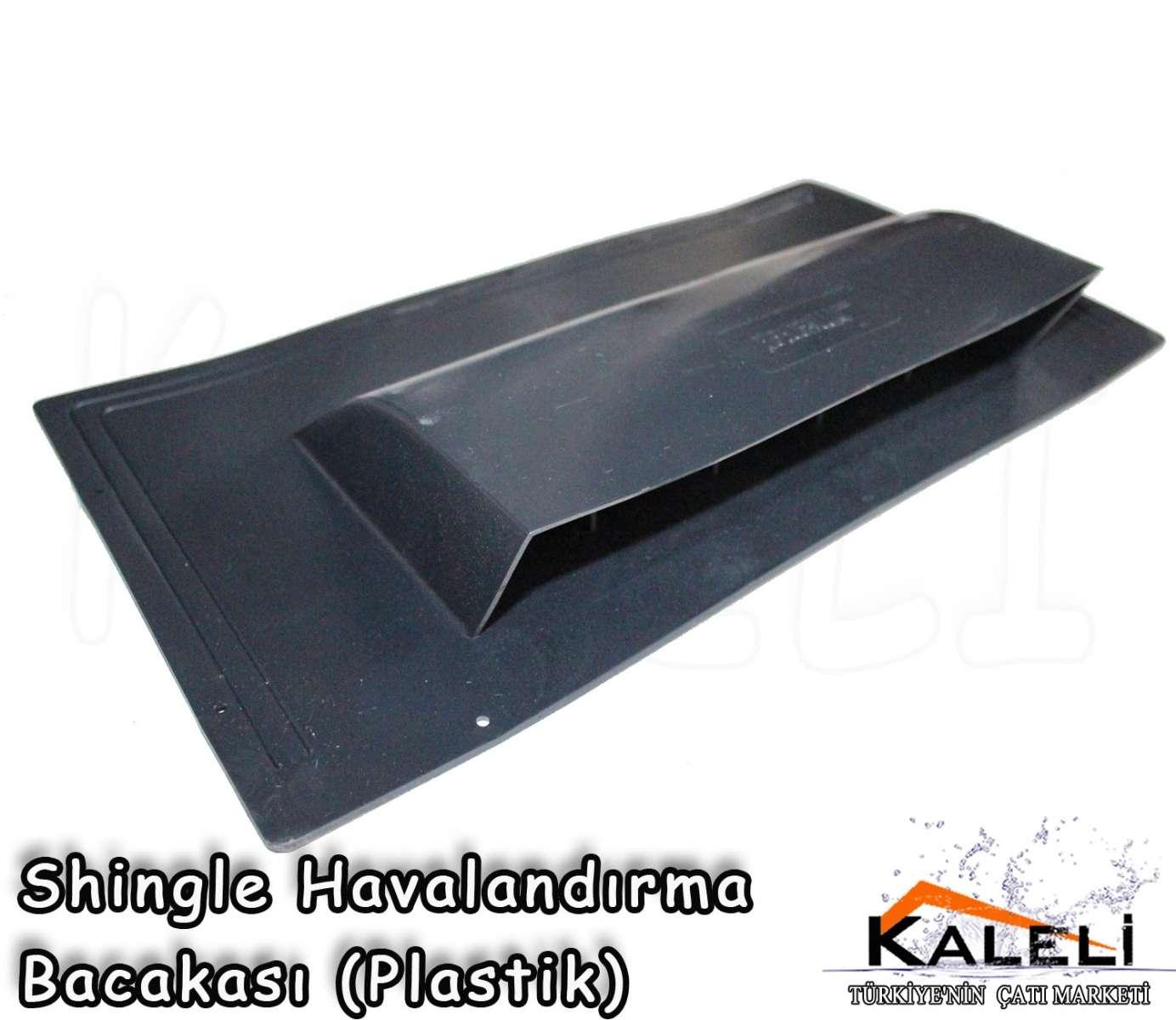 Shingle Havalandırma Bacası Plastik Siyah