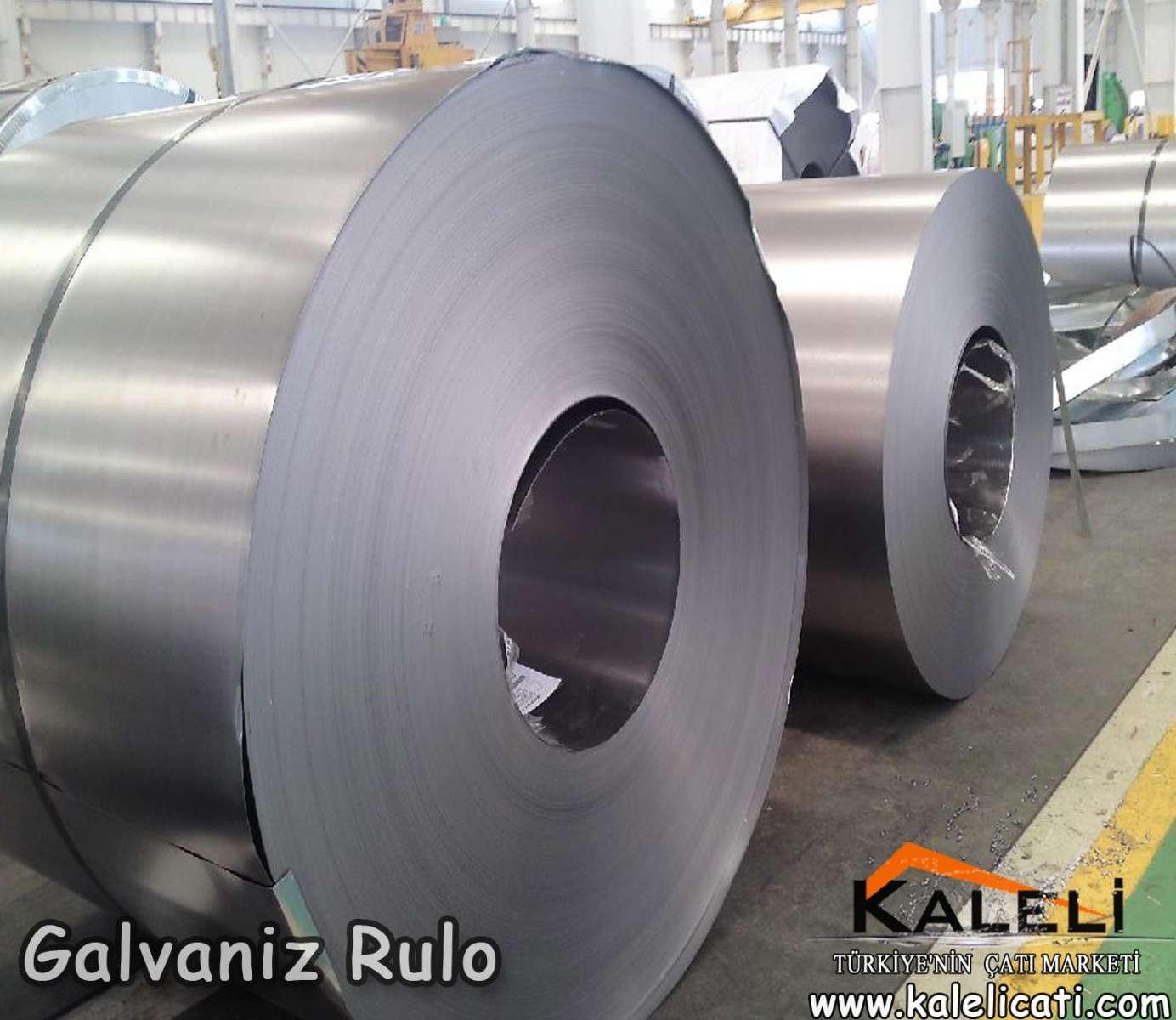 0,50 mm Galvaniz Rulo