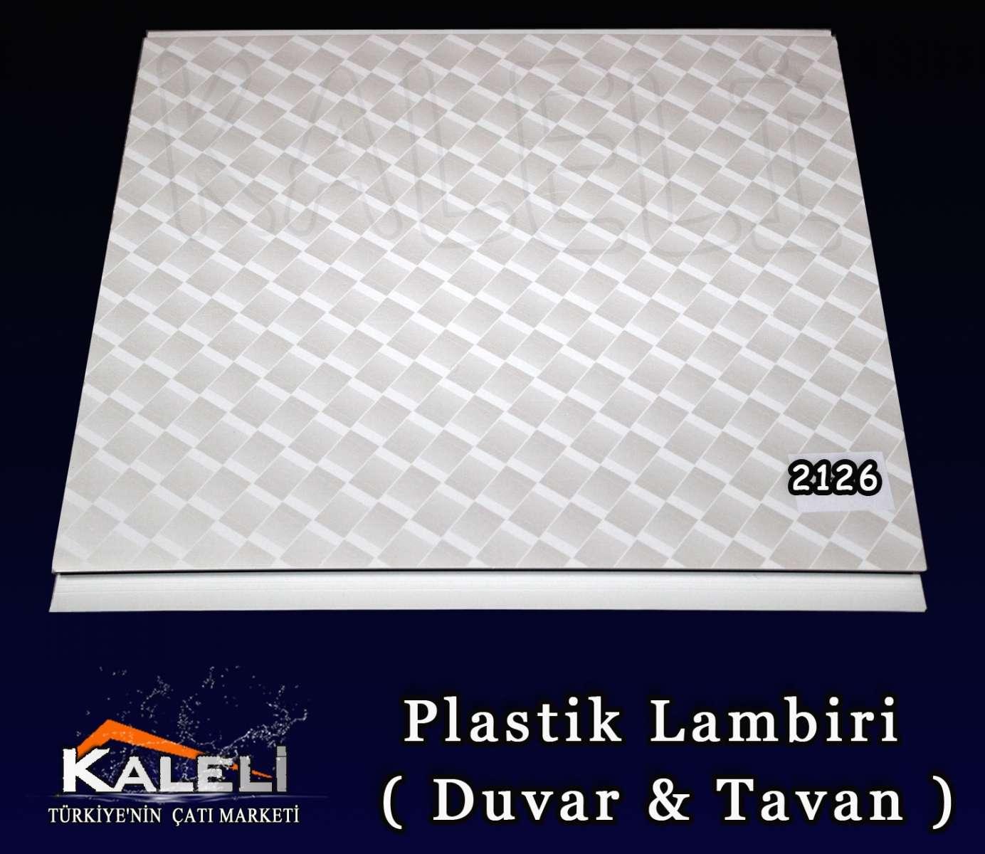 2126 Pvc Duvar & Tavan Lambiri