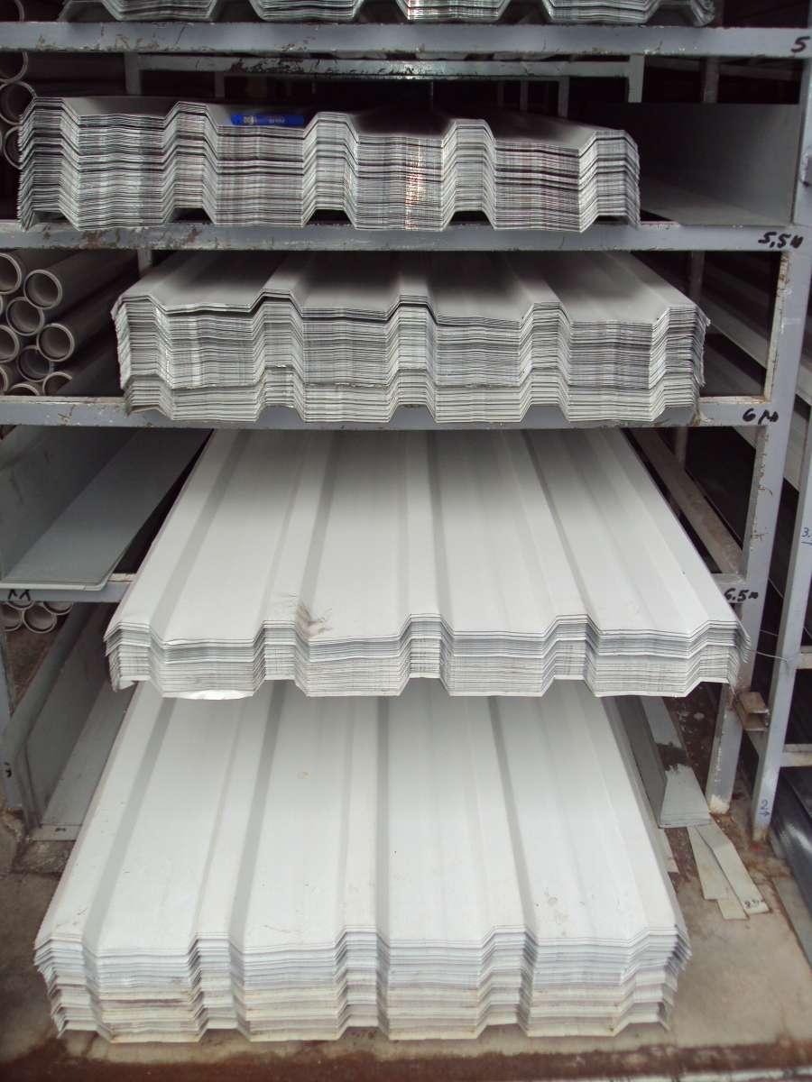 Beyaz Boyalı Trapez 86 cm 0,40 mm