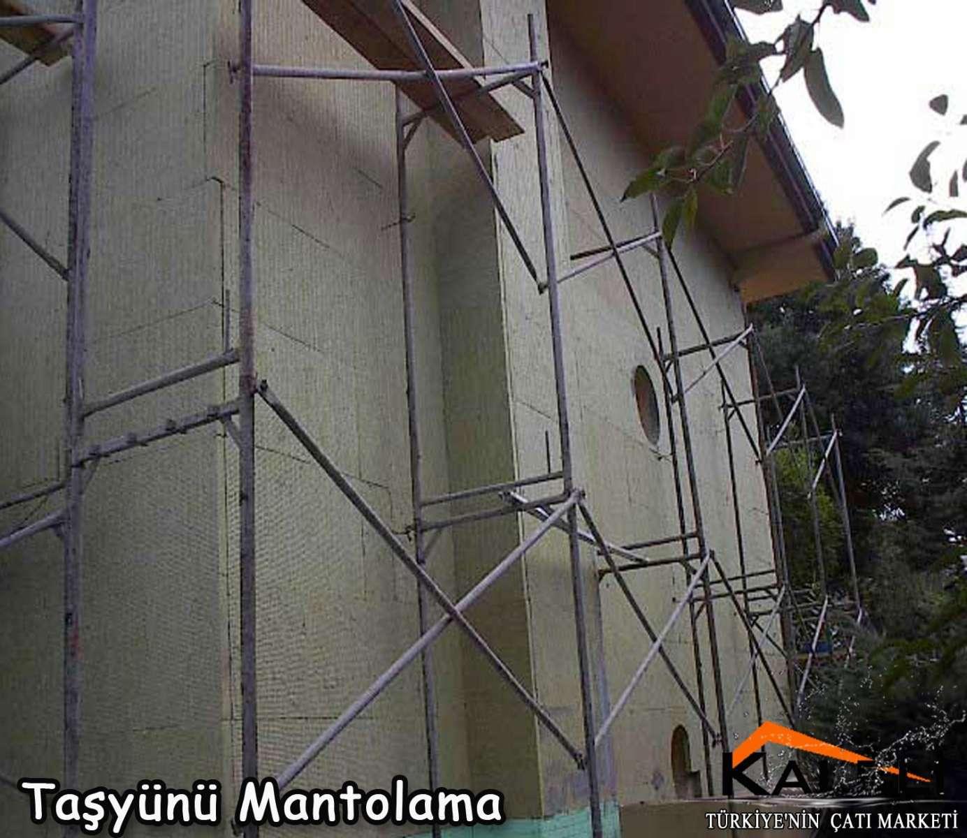 Taşyünü Mantolama Levhası 130 kg/m3