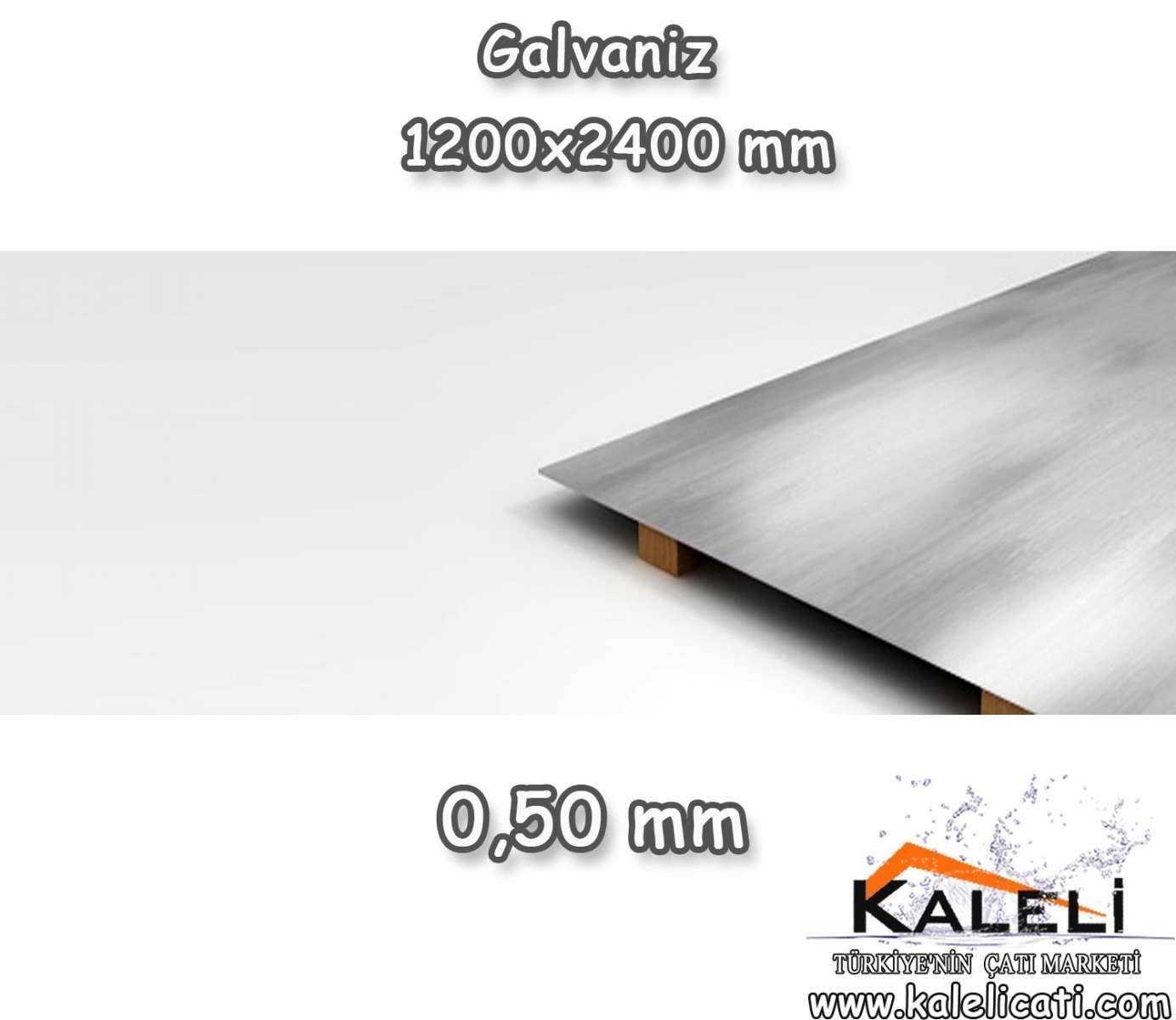 0,50 mm Galvaniz Düz Levha 1200*2400