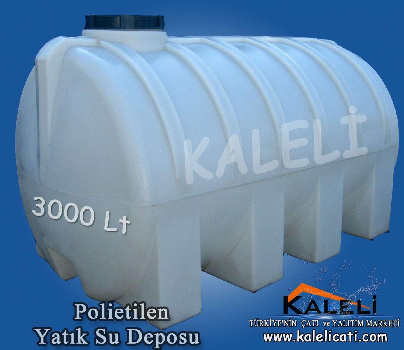 3.000 Lt. Yatık Su Deposu