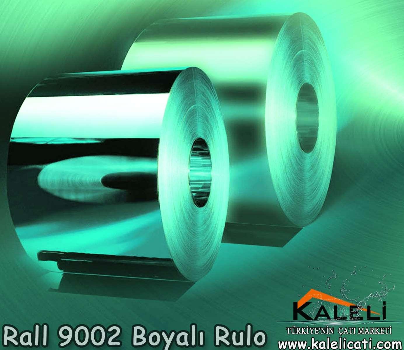 0,50 mm Rall 9002 Boyalı Rulo
