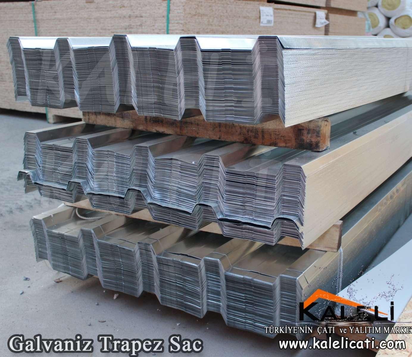 Galvaniz Trapez sac 87 cm 0,50 mm