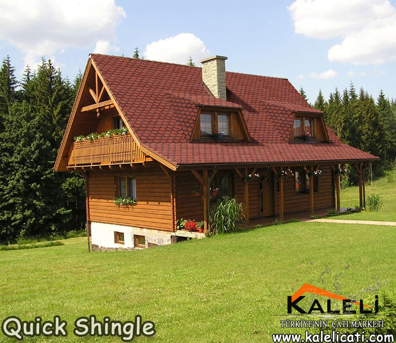 Quick Shingle, Yekpare Shingle (10 m2)