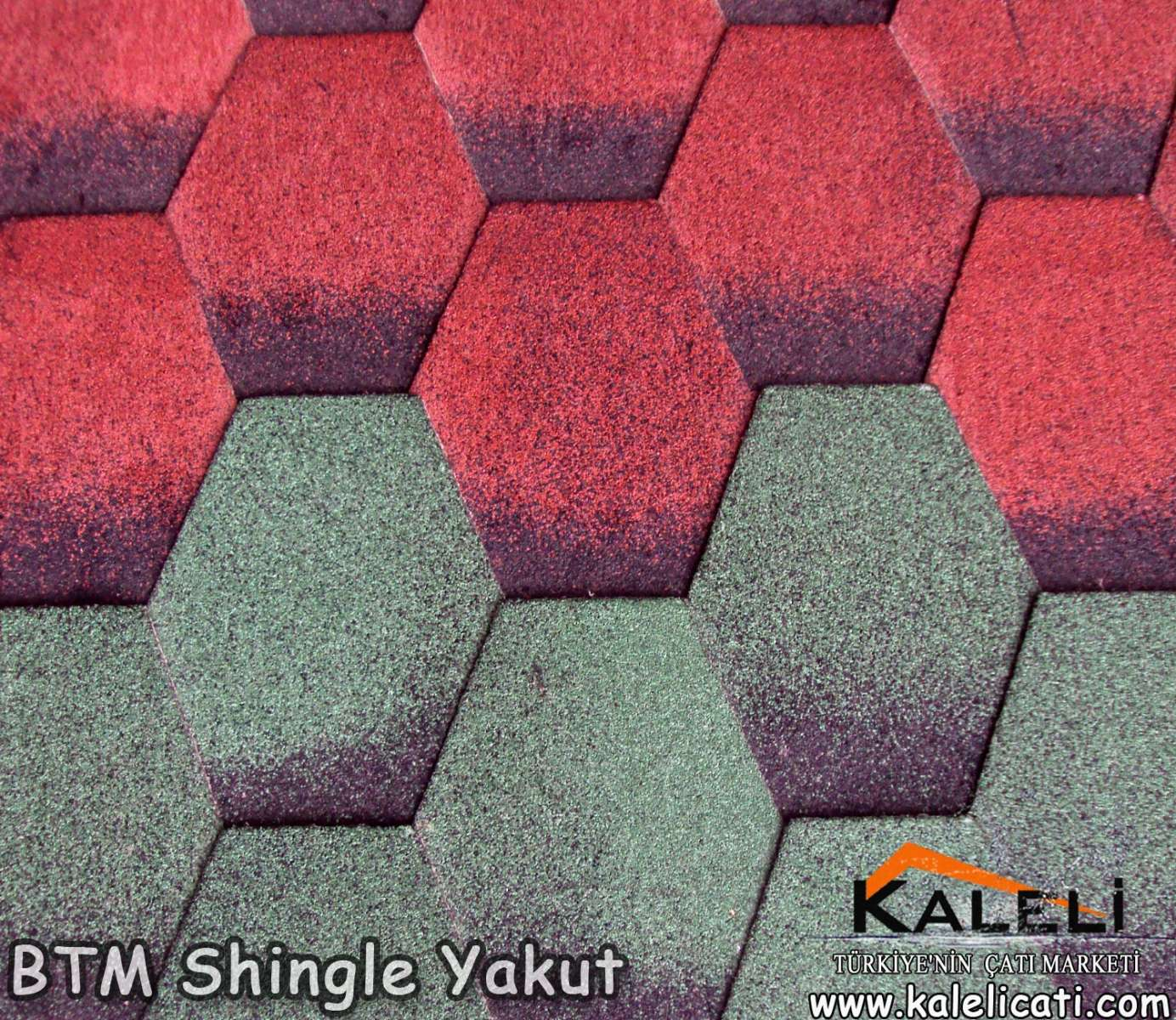 BTM Shingle Yakut (Altıgen) (2,94m2)