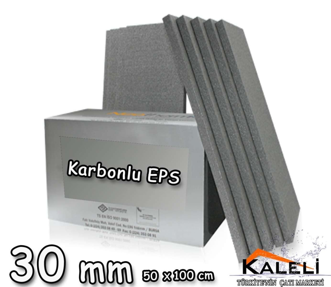 Karbonlu Mantolama Levhası 30 mm