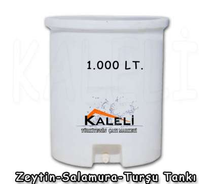 1.000 Lt. Zeytin Salamura Turşu Tankı
