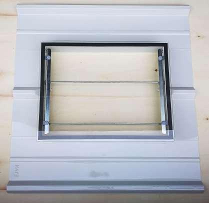 Panel Çatı Çıkışı Kapağı Camlı
