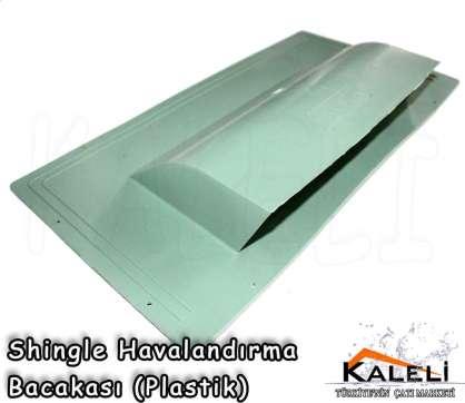 Shingle Havalandırma Bacası Plastik Yeşil