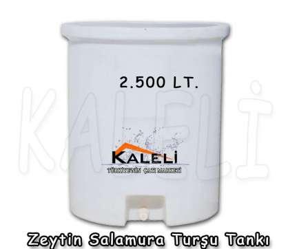 2.500 Lt. Zeytin Salamura Turşu Tankı