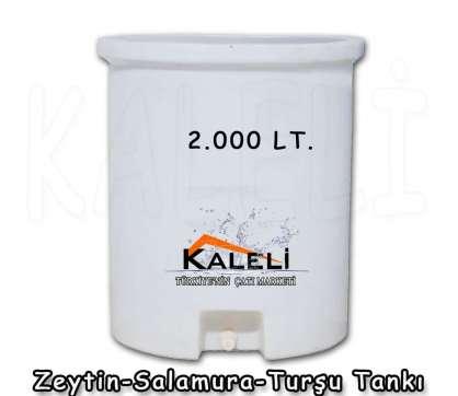 2.000 Lt. Zeytin Salamura Turşu Tankı
