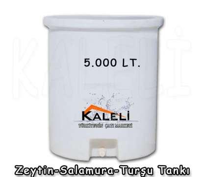 5.000 Lt. Zeytin Salamura Turşu Tankı
