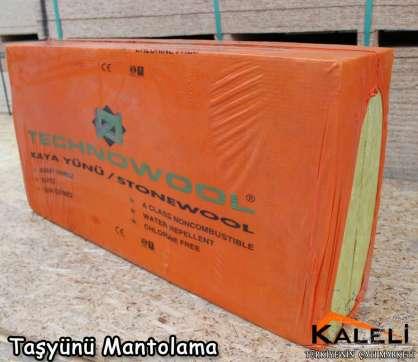 Taşyünü Mantolama Levhası 150 kg/m3
