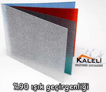Solid Polikarbon 205X305cm 5 mm