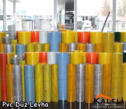 Pvc Düz Rulo 100*R - 0,8 mm