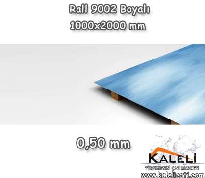 Boyalı Düz Levha 1000*2000-0,50 mm