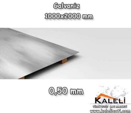 0,50 mm Galvaniz Düz Levha 1000*2000