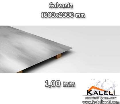 1,0 mm Galvaniz Düz Levha 1000*2000