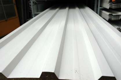 Beyaz Boyalı Trapez 87 cm 0,40 mm