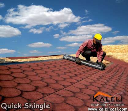Quick Shingle, Yekpare Shingle (10 m2)